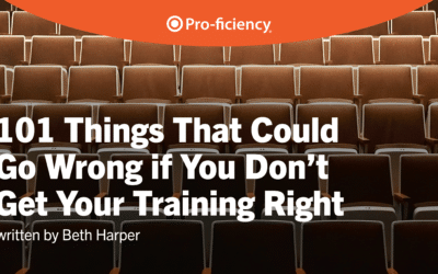 101 things that could go WRONG if you don't get your training RIGHT